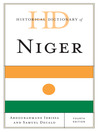 Historical Dictionary of Niger (eBook)